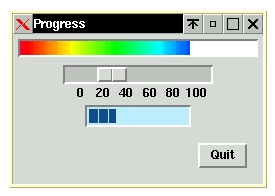Figure 2. The ProgressBar widget